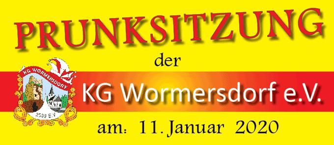 Plakat Prunksitzung 2020